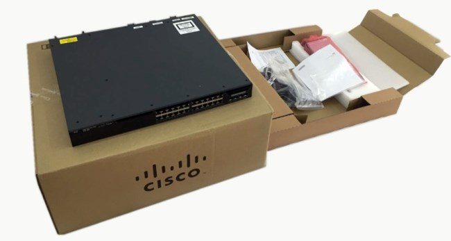 Catalyseur 3650 de Cisco 24 commutateurs WS-C3650-24TS-L de LAN de gigabit de port