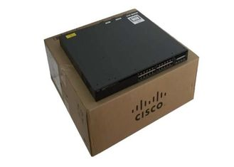 Commutateur Cisco empilable port de Mbps de SFP 24 x 10/100/1000 de LAN de gigabit de WS-C3650-24PD-L